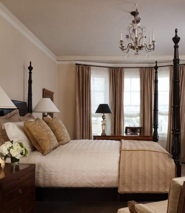 Испанский стиль в интерьере современной спальни