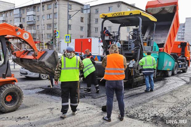 ВКургане ненашли желающих ремонтировать дорогу вцентре города
