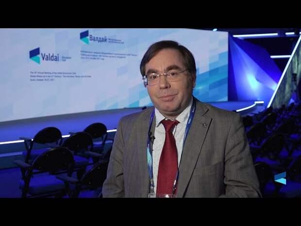 Олег Барабанов об открытой дискуссии на заседании Международного Дискуссионного клуба «Bалдай»