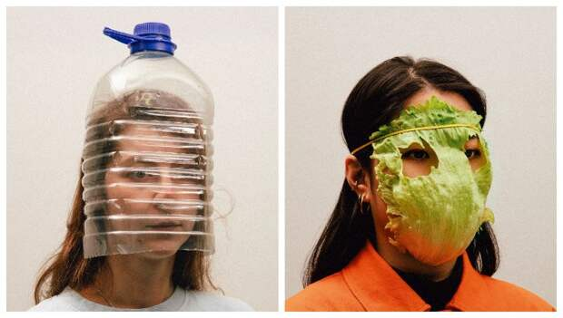 Корки апельсина, листья салата, пластиковые бутылки и другие нестандартные способы защиты от коронавируса