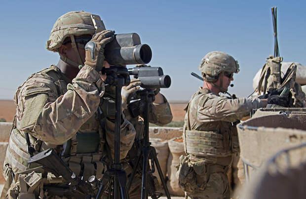 Anadolu: солдаты США в Сирии перекрыли путь российской военизированной колонне