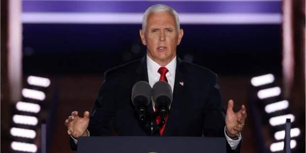 Вице-президент США Пенс согласился номинироваться на новый срок