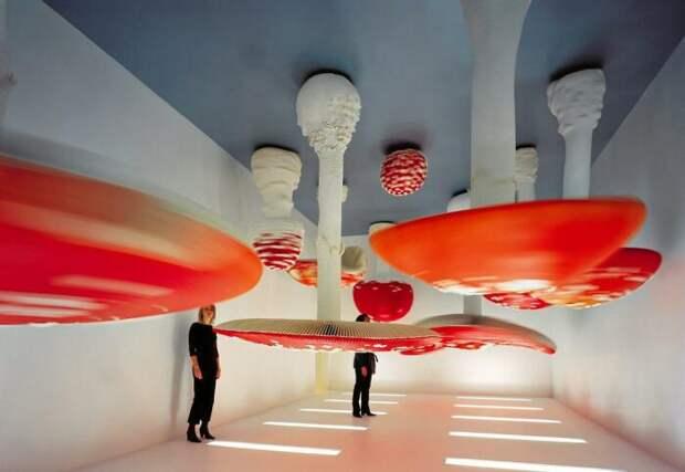 Карстен Хеллер: Комната с перевёрнутыми грибами, 2000 год. \ Фото: sn.dk.