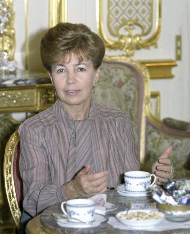 20 сентября 1999 года скончалась Раиса Горбачева