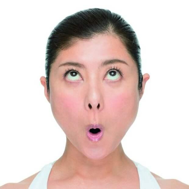 """«Лицо Мунка»: Минутная лицевая йога от морщин и """"межбровки"""""""