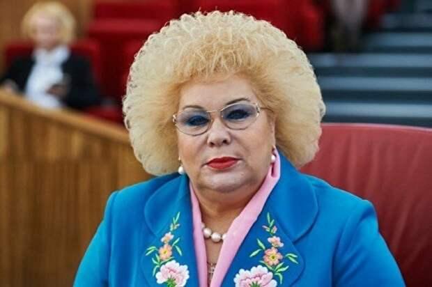 Свинцова Альбина Петровна губернатор