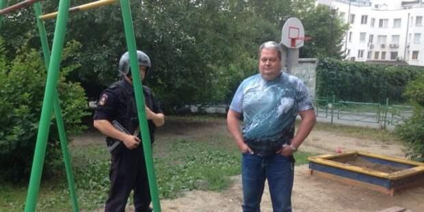 В Екатеринбурге сотрудник ТСЖ вызвал вооруженную охрану, чтобы прогнать детсадовцев из двора