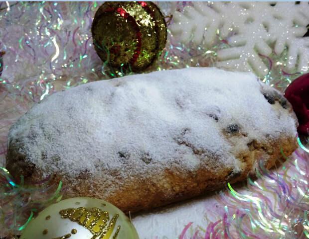 Рождественский штоллен простой рецепт Штоллен, Штоллен рождественский, Видео, Длиннопост