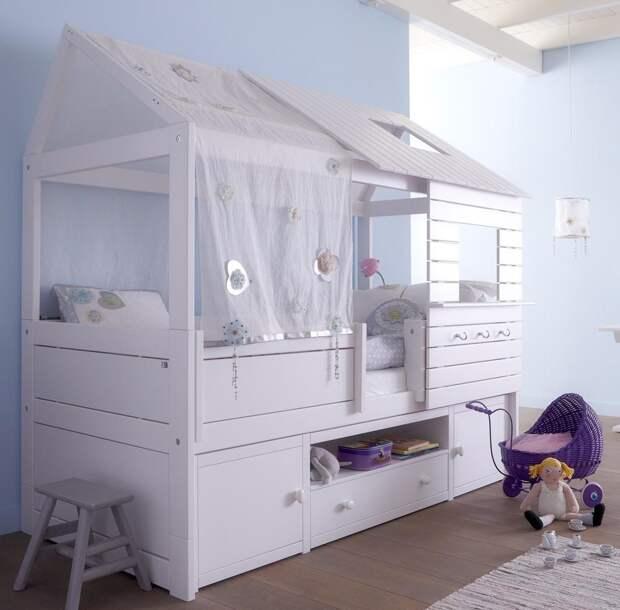 Детская кровать с бортиками: виды и нюансы выбора (33 фото)