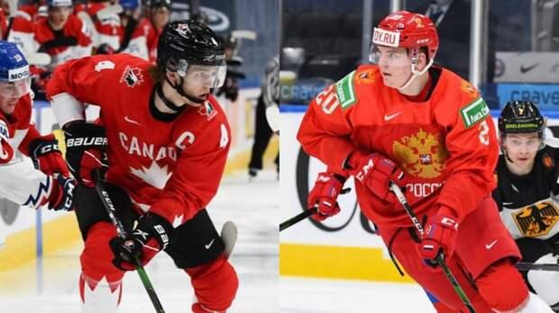 Сборная России в полуфинале МЧМ-2021 сыграет с командой Канады