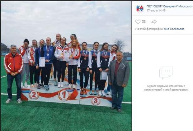 Спортсмены из Северного отличились на Всероссийских соревнованиях по пятиборью