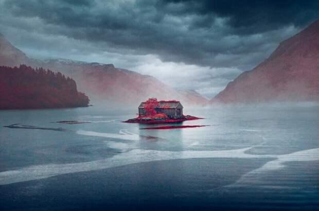 Дом мечты Норвегии. (Фото Yann Philippe/Kolari Vision):