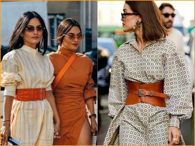 Модные ремни 2020: как выглядеть стильно и элегантно