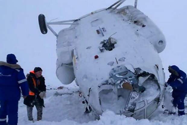 Ми-8 авария Ямал