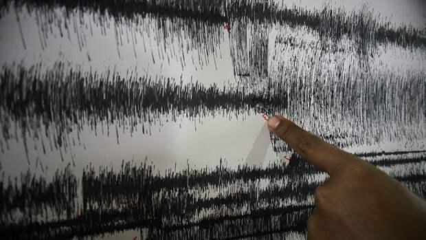 Землетрясение магнитудой 5,8 произошло у берегов Японии
