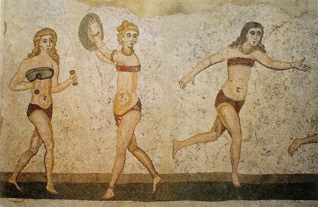 Мини-бикини придумали в Древнем Риме вопросы, животные, земля, мир, планета, почему, факты