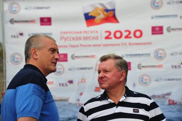 Аксенов назвал регату своего друга Белавенцева символом Русской весны