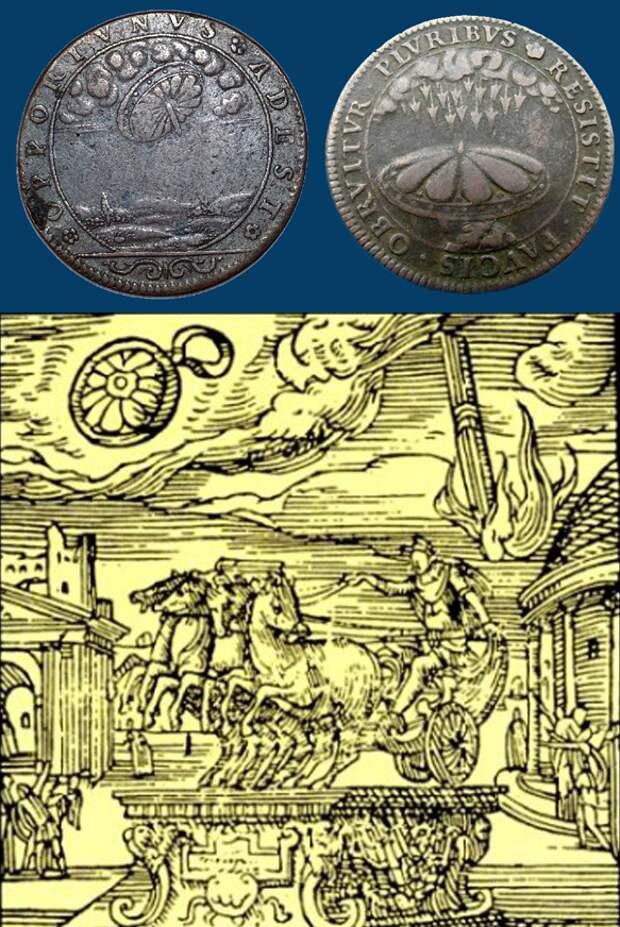 Наблюдения и контакты с НЛО в средние века