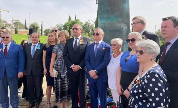 В Израиле отмечают 9 мая – без размаха, посол РФ: «Не позволим украсть победу»
