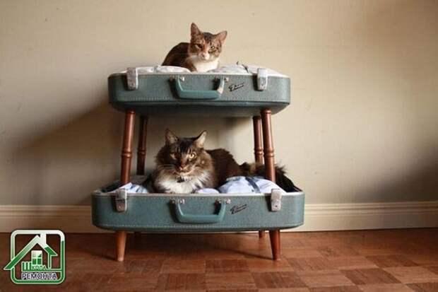 Еще одна идея использования ненужных чемоданов!💥 💥 💥