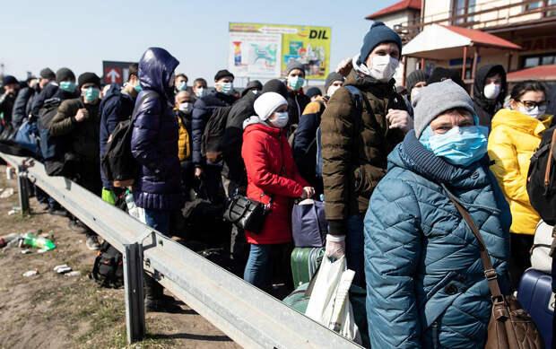Украина держит в заложниках и морит голодом миллионы мигрантов