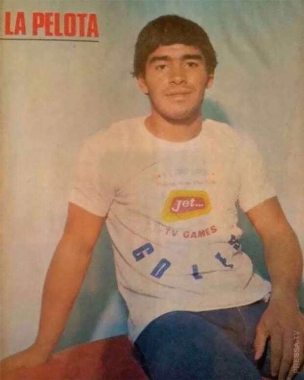 Редкие фотографии молодого Диего Марадоны