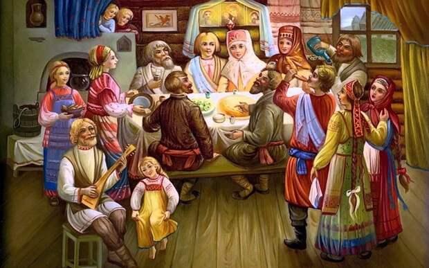 Зачем на Руси невесты клали яйца под курицу и вязали узелки: Самые забавные свадебные обряды