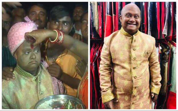 «Свадьба по отчаянью»: в Индии папа подарил своему сыну свадьбу без невесты