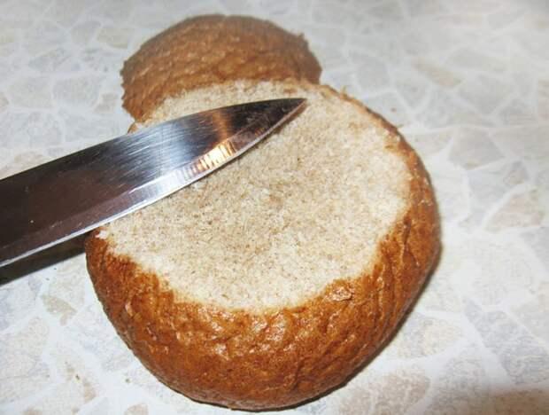 Фото рецепта - Чешский картофельный суп пюре в хлебе - шаг 1