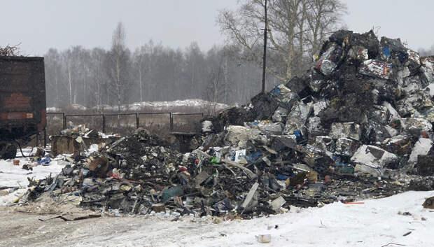 В Подольске проверили место обжига металла после жалобы жителей на смог