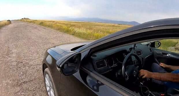 Интересная аномалия: гора в Армении, где машина сама едет вверх без водителя