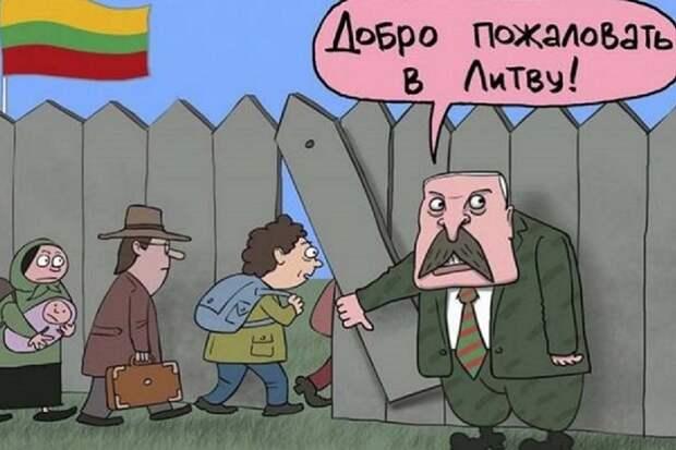 Литовцы хотели белорусских беженцев, они их получили