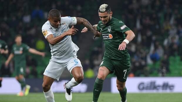 «Зенит» сравнял счёт в матче РПЛ с «Краснодаром»