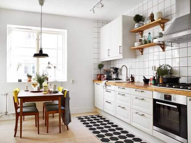 Кухня в скандинавском стиле: особенности и преимущества