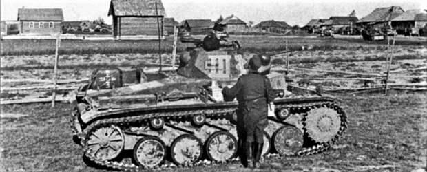 Боевое применение лёгких танков Панцерваффе. . Часть 3-я