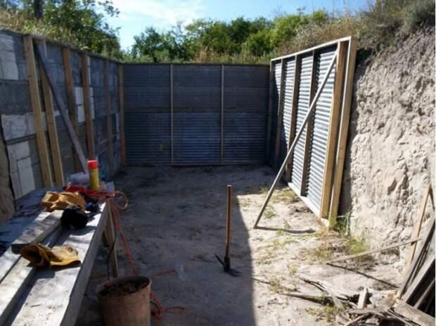 Органическое земледелие, пермакультура: яма для теплицы