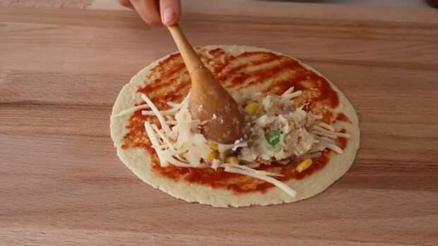 Лучше чебуреков и пирожков! Вкусная кесадилья с сырной картошкой