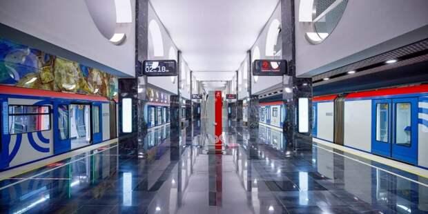 Темпы обновления поездов метро в Москве - самые быстрые в мире. Фото: М. Денисов mos.ru