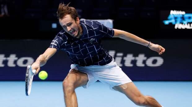 Медведев — о финале Итогового турнира: «У Тима будет преимущество. С годами он играет все сильнее и сильнее»