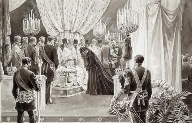 Как хоронили русских монархов и почему их не предавали земле