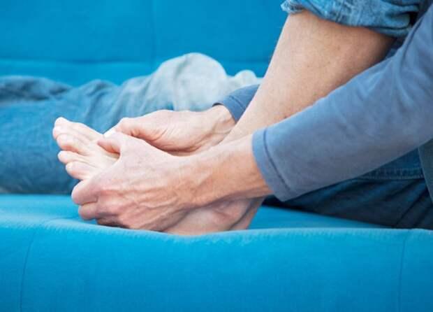 «Необычные» ощущения в ногах могут указывать на диабет 2 типа