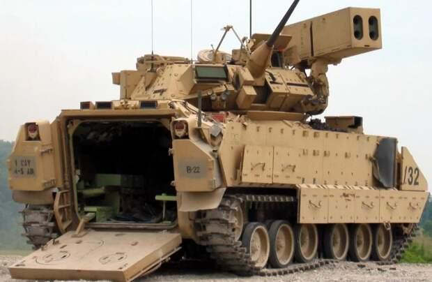 В США собираются заменить известный танк Bradley