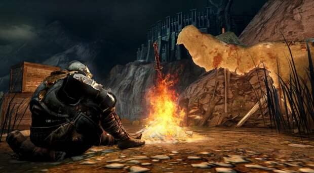 Ютубер показал, как в альфе Dark Souls 3 можно было создавать костры почти в любом месте  | Канобу - Изображение 1