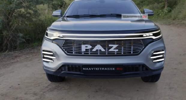Представлено первое кросс-купе ПАЗ-3205 2021 с полным приводом и двигателями от Volkswagen