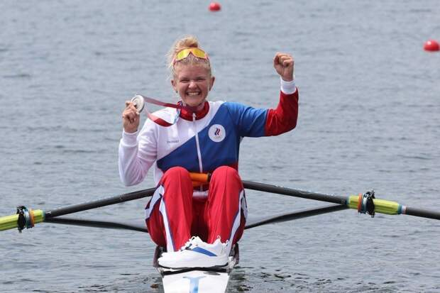 Пракатень завоевала серебро в академической гребле на Олимпиаде