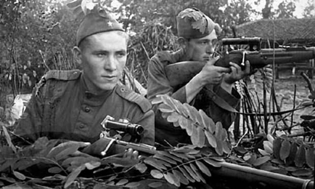 Какие бойцы Красной Армии больше всего удивили немцев