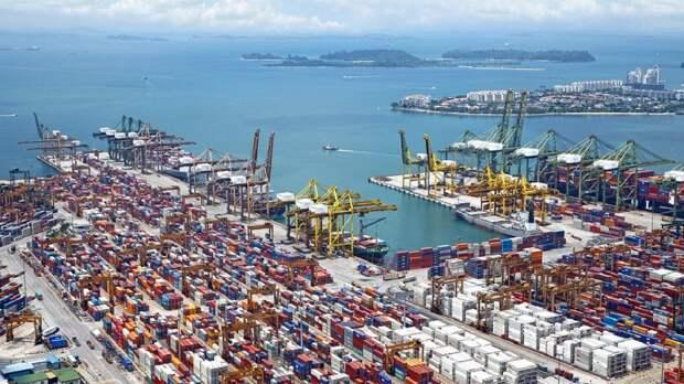 В портах Китая из-за коронавируса закрыли ряд терминалов