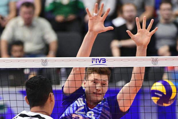 Назван состав мужской сборной России по волейболу на Лигу Наций