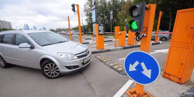 Парковочный абонемент можно приобрести в Северном Тушине до 10 августа