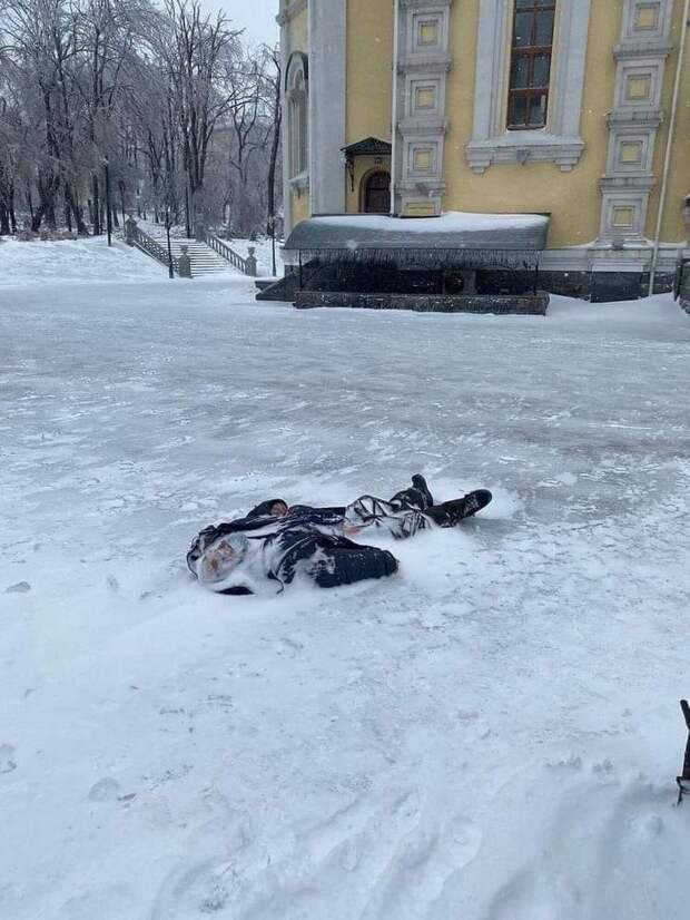 Это не блокадный Ленинград.